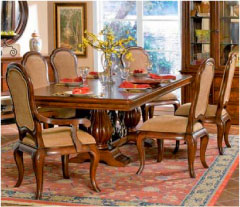 Dining Room In Warm Tones