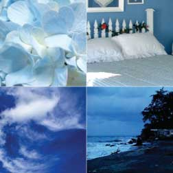 The Blue Color In Home Decorating
