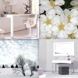 The White Color In Home Decorating