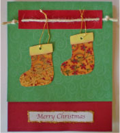 Two Christmas Stockings Card