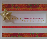 Merry Christmas With An Ornament Card