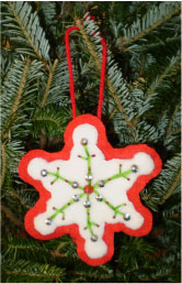 Layered Snowflake Ornament