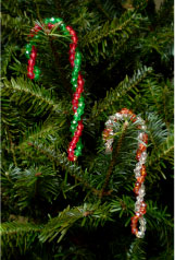 Beaded Candy Cane