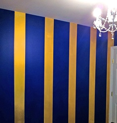 How to Paint Stripes on aWall