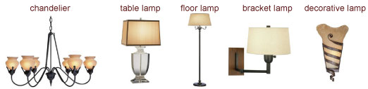 all lamps