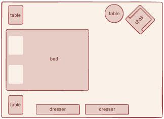 Gentil ... Bedroom Plan 1